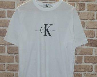 fe38d4f90442 Vintage 90s Calvin Klein Jeans CK Logo shirt