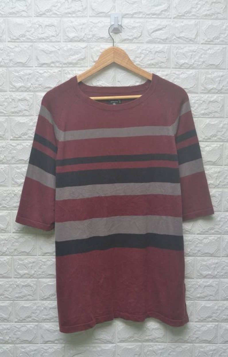 559bb46ac36e Vintage Stussy stripe sweatshirt US XL / EU 56 / 4 | Etsy