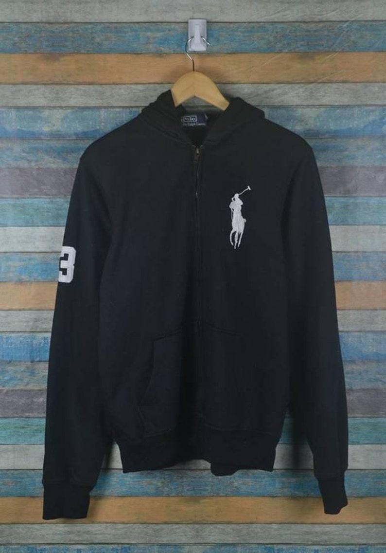bbf82ec3 Vintage 90s Polo Rl Pony Hoodie sweater US XL / EU 56 / 4 | Etsy
