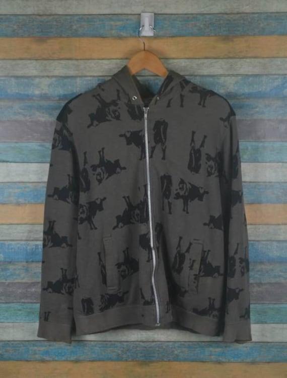 Undercover Cow print hoodie