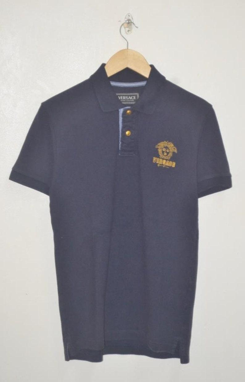 853e5732 Vintage Versace Jeans Couture Medusa Head Polo shirt | Etsy