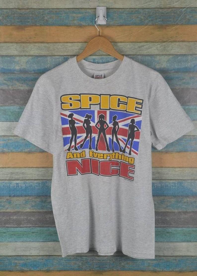 f8470b56c4af Vintage Spice Girl 90s girl band pop shirt US M / EU 48-50 / 2 | Etsy