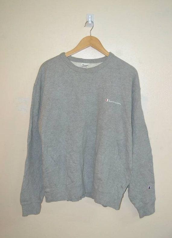 Vintage Champion 90s grey sweatshirt