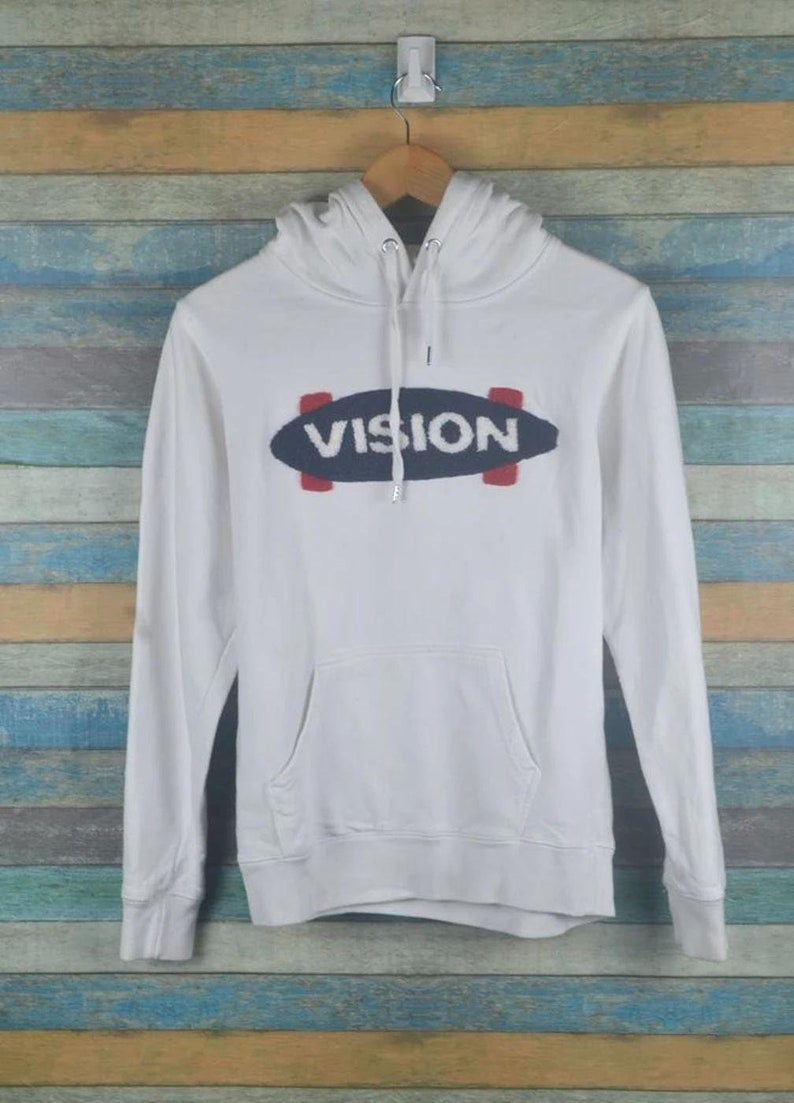 Vision street wear skate 90s hoodie sweater