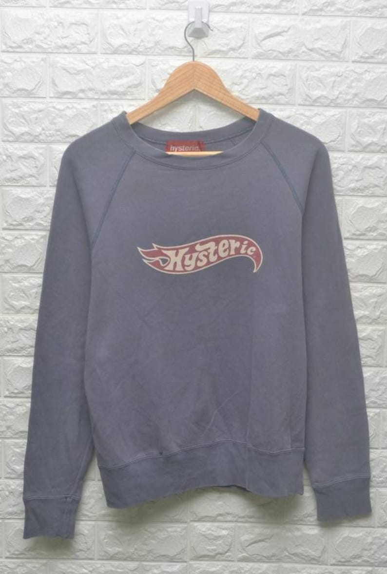 f44dd975d0b2 Hysteric 'Hot Wheel' logo parody sweatshirt US M / EU | Etsy
