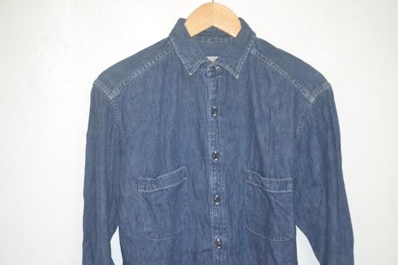 45rpm studio chambray western shirt denime Vintage jeans zqd6az