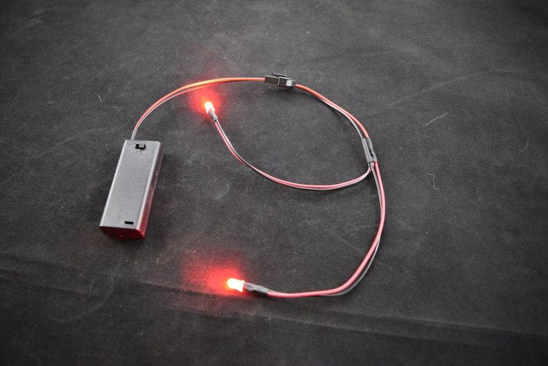 2 LED AAA 3v Kit image 0