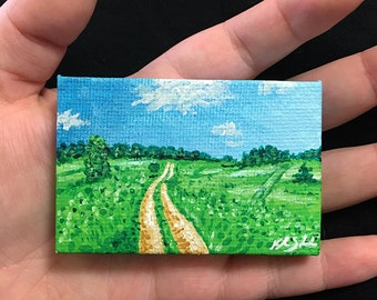 Field Miniature Landscape