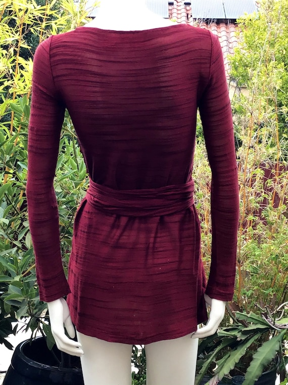 Vintage FENDI 70s wrap mini dress - image 9