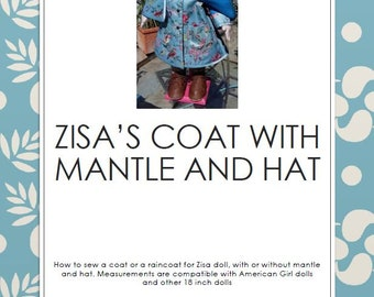 Zisa's coat sewing pattern+tutorial
