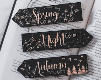 Wooden signs, laser engraved, Inspired by ACOMAF, Handmade