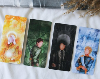 Deck of Cards, Shadow and Bone Characters, Grishaverse, Set of 4