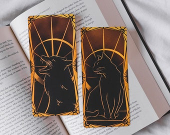 Mr. Kindly and Eclipse Tarot Cards, Double Side printed, Nevernight Chronicles, Set of 2