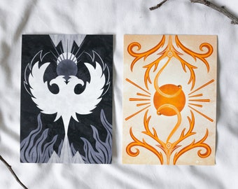 Prints from the Shadow and Bone Trilogy, Grishaverse, Different sizes