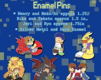 Tamers Enamel Pins