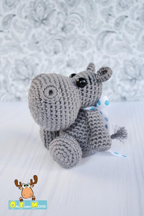 Ravelry: Hady Hippo Amigurumi pattern by Joanne Loh | 855x570