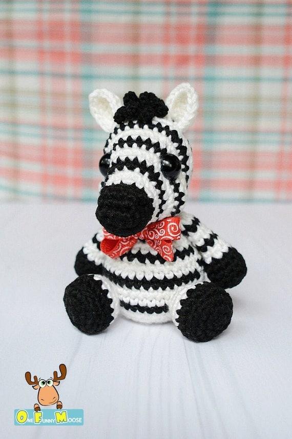 Small Zebra amigurumi pattern - Amigurumipatterns.net | 855x570