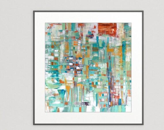 Gallery Art Print, commercial abstract art print, hotel wall art, restaurant wall art, interior design, giclee art print, original abstract