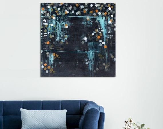 Mid Century Modern Art, Abstract Painting, geometric art, commercial art, interior styling, contemporary abstract art, wall art, modern art
