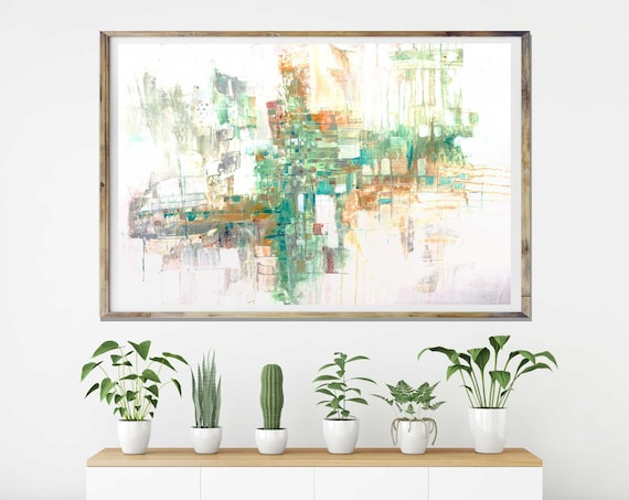 Abstract Art Print, Modern abstract, commercial art, white abstract art, modern art, minimalist art, interior decor, mid century modern, art