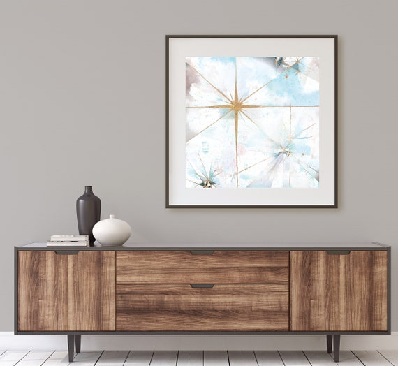 Galaxy white 1, abstract celestial art, minimalism, star, mid century modern art, mid century starbursts, space art, galaxy art, gold leaf,