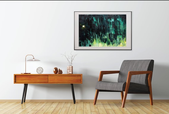 abstract STAR art,commercial art original abstract painting, night sky painting, star painting, modern interior decor contemporary art print