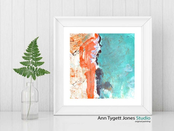 abstract art print, commercial abstract art print, modern painting, ORANGE, modern abstract wall art, contemporary art, art for the office