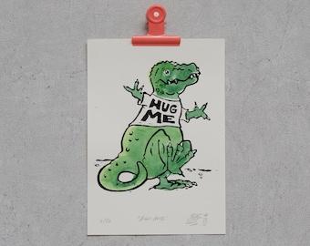 Hug me - T-Rex needs love