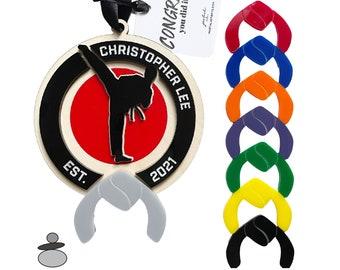 Karate Boy Ornament, Karate Personalized Gift Idea, Taekwondo, Krav Maga, Christmas