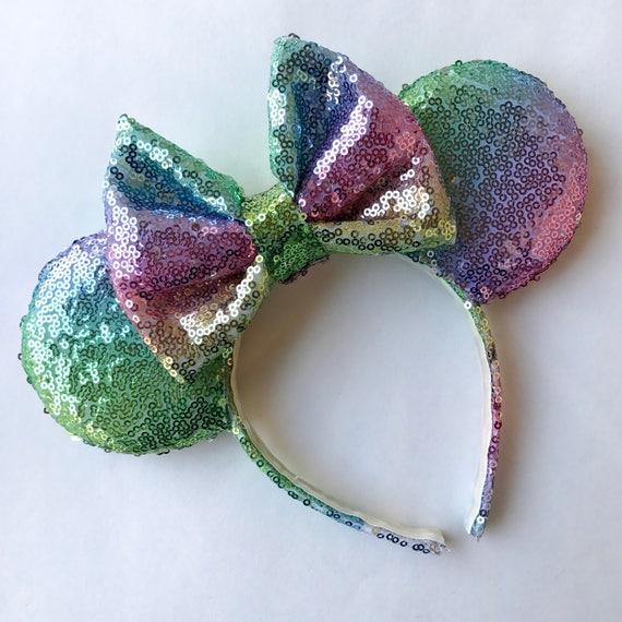 Ombré Rainbow Ears by Etsy