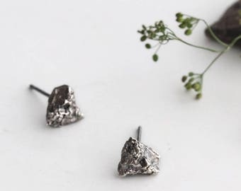 Small Stone Earrings