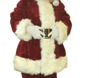 Custom wool or Velvet Santa Claus Suit Costume built to your specifications.  sc 1 st  Etsy & Santa claus costume   Etsy