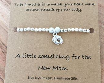 New Mom Push Present Gift Baby Shower Jewelry For Mothers Day Pregnancy