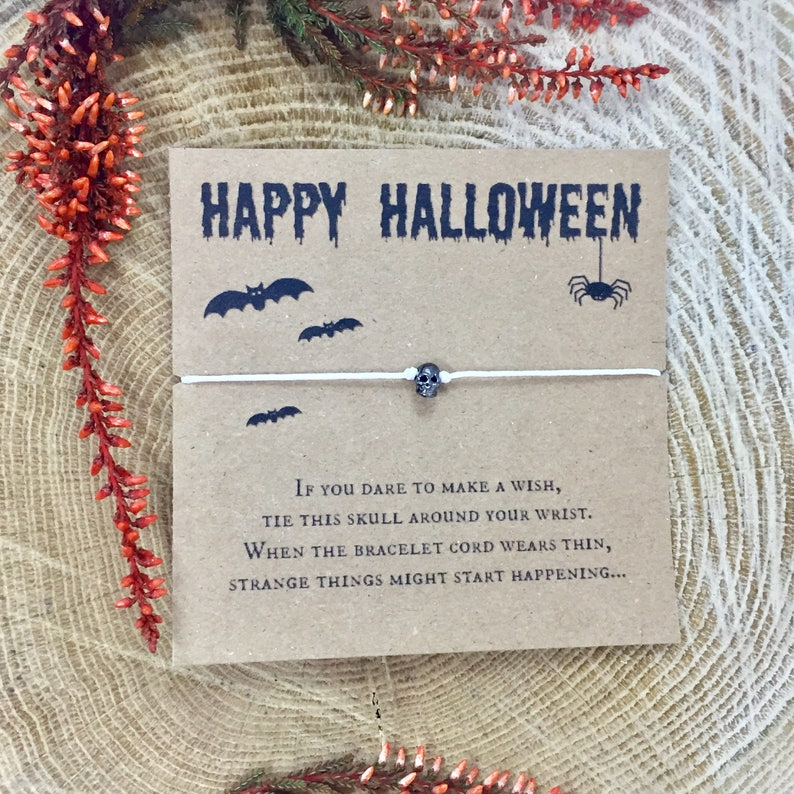 small party favours trick r treat halloween gift ideas wish bracelet wish bracelets halloween gift kids halloween gifts