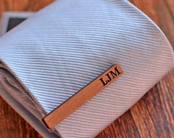 Personalized Tie Clip, Monogram Tie Bar, Groomsmen Gifts, Custom Tie Bar, Initial Tie Bar, Personalised Tie Bars, Monogrammed Tie Bar