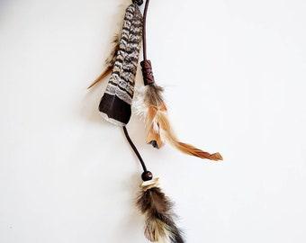 Hair feathers, boho hair clip, feather clip, feathered hair clip, hair accessories, boho accessories, festival, hair clip, feathers