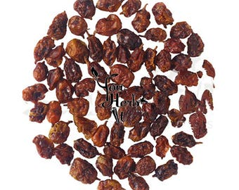 Organic Sea Buckthorn Whole Osmotic Berries Seaberry Superfood  - Hippophae Rhamnoides