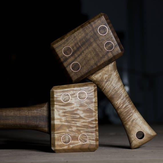Premium Woodworking Mallet Lie Nielsen Veritas Exotic Etsy