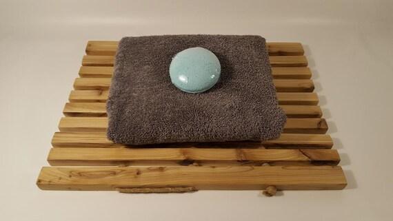 Meditation Mat Roll Up Ceder Mat Bathroom Mat Wooden Etsy