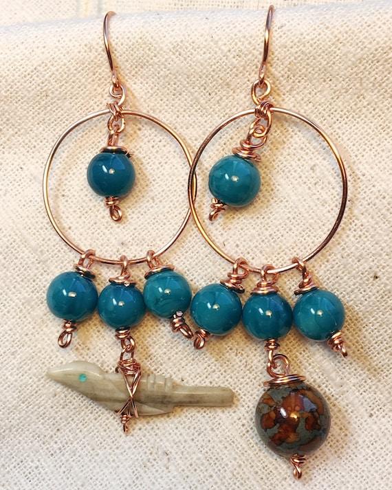 Boucles doreilles Roadrunner pendentif roadrunner bijoux de   Etsy ac9ad53efa26
