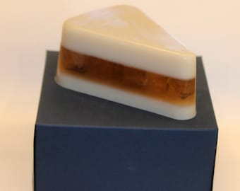 Apple Pie Soap, Pie Soap, Gift Idea, Gift for her, Bakery Soap, Dessert Soap, Soap Slice, Food Soap, Hot Apple Pie soap