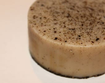 Coffee Bean Soap, coffee soap, handmade, melt and pour, vanilla scent, scrub soap, coffee lover, gift idea, gift for her, unisex soap