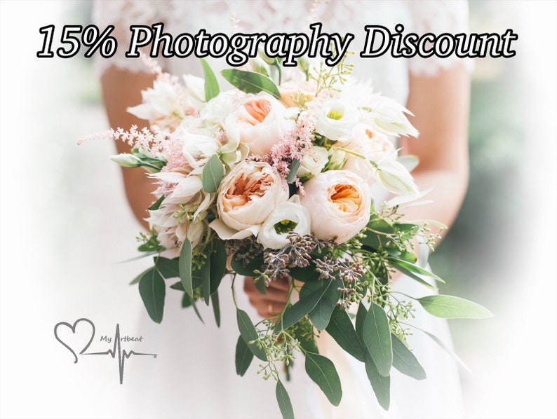 15/% Photography Discount Listing NOT For Purchase