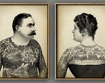 Old School Tattoo Etsy