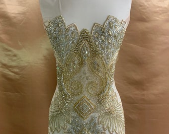 Dress applique etsy