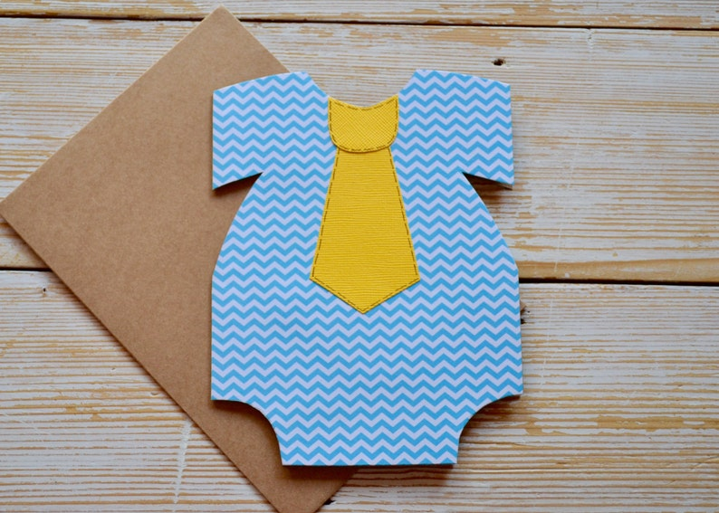 New Baby Card Baby Greeting Card Cute Baby Card Baby Card for Boy Baby Shower Card