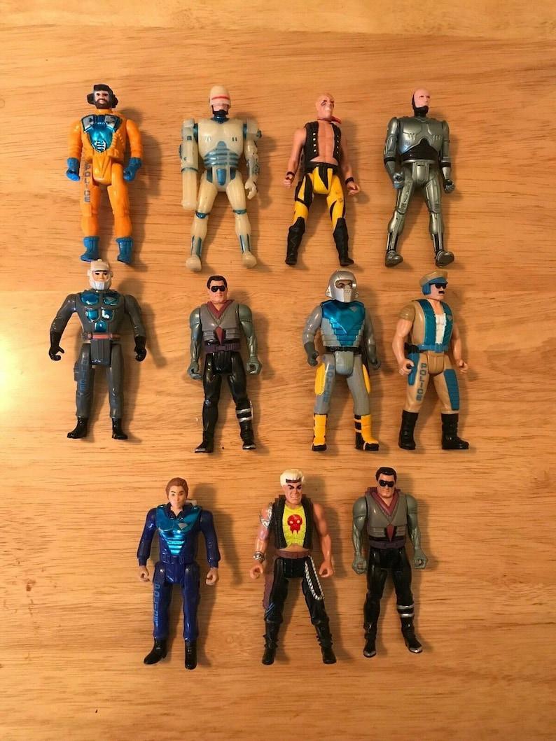 f1c914b427d4 Vintage Kenner Orion RoboCop Ultra Police Figure Lot of 11