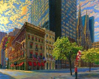 Fifth Avenue Sun (Fine Art Giclée Print)