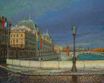 D'orsay Morning (Fine Art Giclée Print)