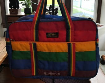 Vintage 1980's Victor Honolulu Duffle Bag